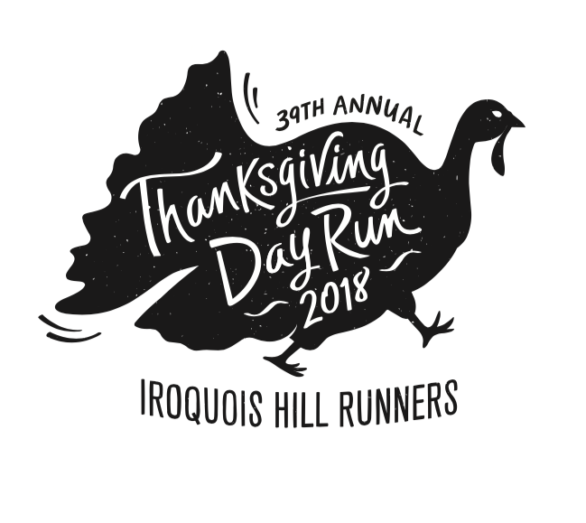 Thanksgiving day race shirt design